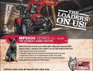 Massey Ferguson Free Loader Promotion-MF5600 series