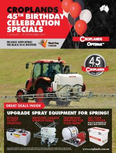 Croplands Optima 45th Birthday Spring catalogue